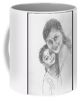 A Friend And Her Daughter Coffee Mug
