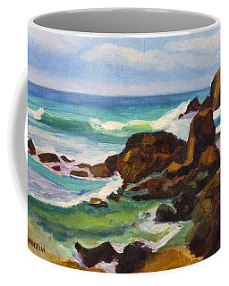 Coffee Mug featuring the painting A Frouxeira Galicia by Pablo Avanzini