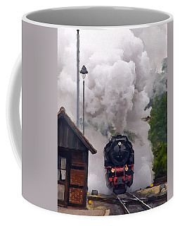 A Full Head Of Steam Coffee Mug