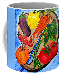 A Gardeners Palette Coffee Mug