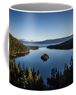 Coffee Mug featuring the photograph A Generic Photo Of Emerald Bay by Mitch Shindelbower