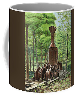 A Ghost In The Forest Coffee Mug