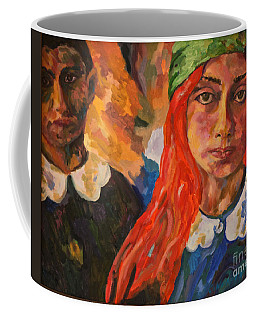 A Girl's View Of War 2 Coffee Mug by Michael Cinnamond