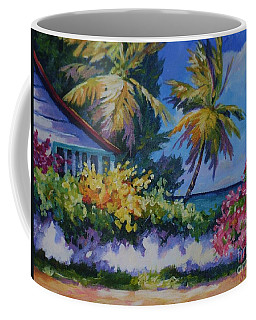 A Glimpse Of The Sea Coffee Mug