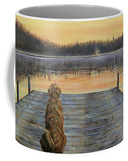 A Golden Moment Coffee Mug by Susan DeLain