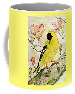 A Goldfinch Spring Coffee Mug