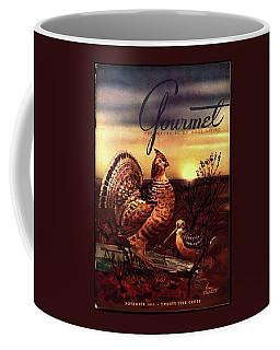 A Gourmet Cover Of A Turkey Coffee Mug