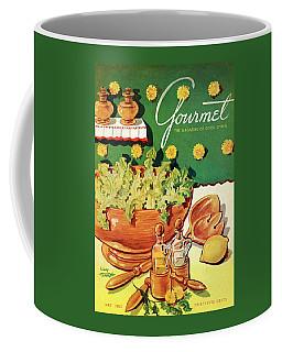 A Gourmet Cover Of Dandelion Salad Coffee Mug