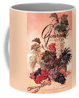 A Gourmet Cover Of Grapes Coffee Mug