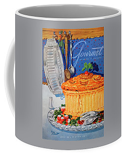 A Gourmet Cover Of Pate En Croute Coffee Mug