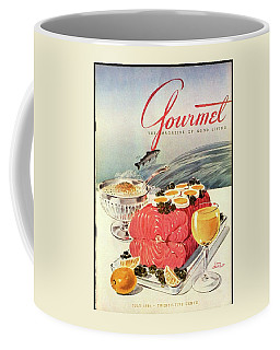 A Gourmet Cover Of Poached Salmon Coffee Mug