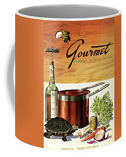 A Gourmet Cover Of Turtle Soup Ingredients Coffee Mug
