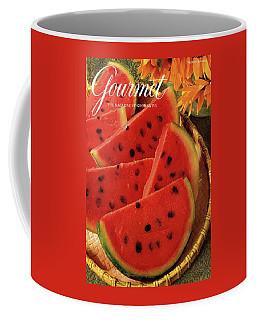 A Gourmet Cover Of Watermelon Sorbet Coffee Mug