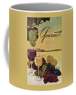 A Gourmet Cover Of Wine Coffee Mug