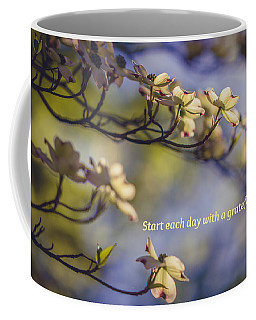 A Grateful Heart Coffee Mug by Sara Frank