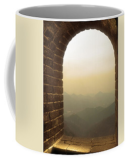 A Great View Of China Coffee Mug by Nicola Nobile