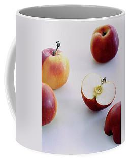 A Group Of Apples Coffee Mug