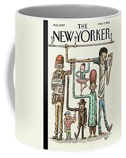 Straphangers Coffee Mug