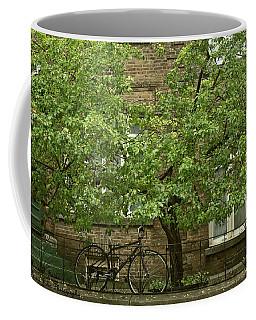 A Guardian In The Rain Coffee Mug