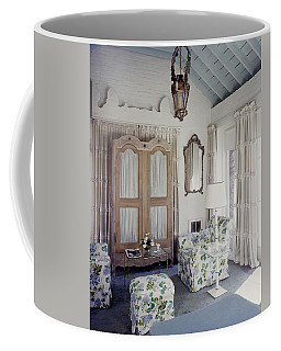 A Guest Room At Hickory Hill Coffee Mug