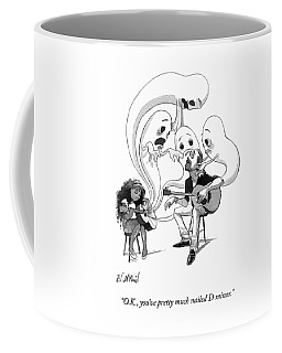 A Guitar Teacher Speaks To His Student Coffee Mug