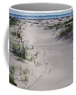 A Gull's Walk To The Ocean Coffee Mug