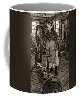 A Happy Yarn Monochrome Coffee Mug