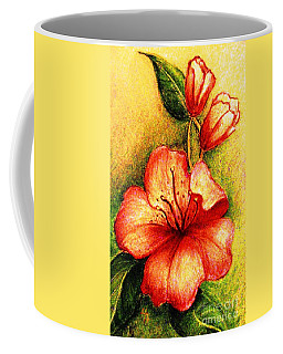 A Harbinger Of Springtime Coffee Mug by Hazel Holland