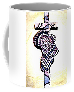A Heart For Africa Cross Coffee Mug