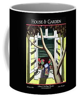 A House And Garden Cover Of A Birdcage Coffee Mug