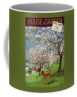A House And Garden Cover Of A Calf Coffee Mug