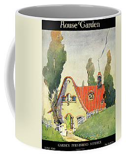 A House And Garden Cover Of A Cottage Coffee Mug