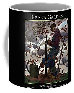 A House And Garden Cover Of A Gardener Coffee Mug