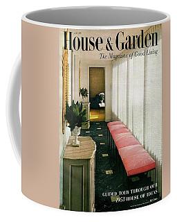 A House And Garden Cover Of A Hallway Coffee Mug
