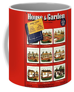 A House And Garden Cover Of Construction Stages Coffee Mug