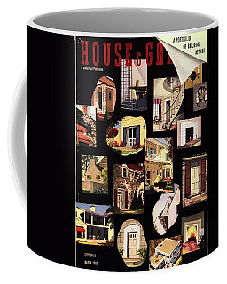 A House And Garden Cover Of House Details Coffee Mug