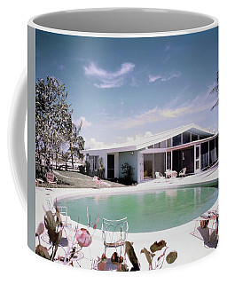 A House In Miami Coffee Mug