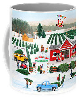 A Jolly Holly Holiday Coffee Mug