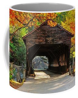 A Kancamagus Gem - Albany Covered Bridge Nh Coffee Mug