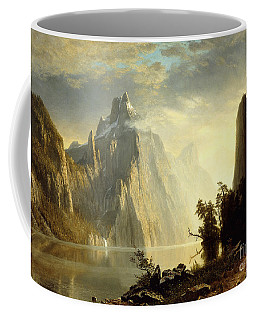 A Lake In The Sierra Nevada Coffee Mug