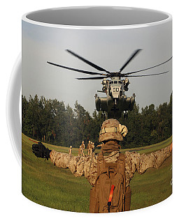 A Landing Support Specialist Guides Coffee Mug