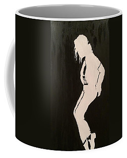 Coffee Mug featuring the painting A Legend by Brindha Naveen