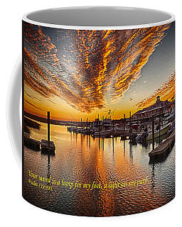 A Light On My Path Coffee Mug