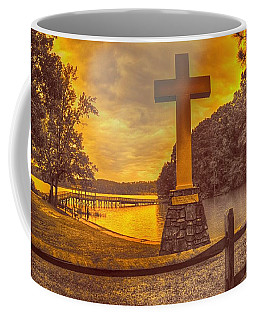 Coffee Mug featuring the photograph A Light Unto The World by Dennis Baswell