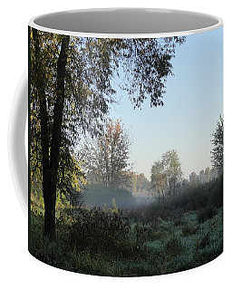 Coffee Mug featuring the photograph A Little Fog by Betty-Anne McDonald