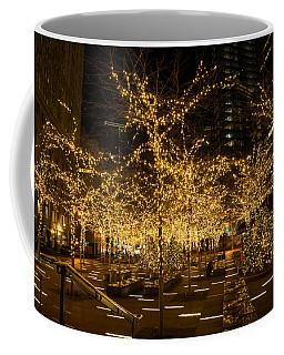 A Little Golden Garden In The Heart Of Manhattan New York City Coffee Mug