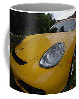 A Little Yellow Porsch Coffee Mug by John Schneider