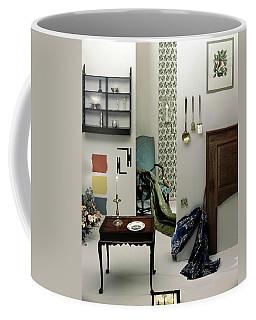 A Living Room Designed By Raleigh Tavern Coffee Mug