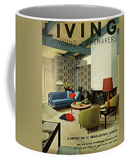A Living Room With Carpeting By Callaway Coffee Mug
