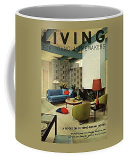 A Living Room With Carpeting By Callaway Coffee Mug